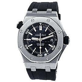 Audemars Piguet Royal Oak Offshore Diver Steel Black Watch 15703ST.OO.A002CA.01