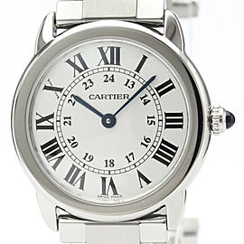 CARTIER Ronde Solo Steel Quartz Ladies Watch W6701004