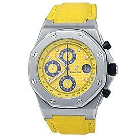Audemars Piguet Royal Oak Offshore Steel Yellow Men's Watch 25770ST.OO.D050BU.02