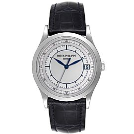 Patek Philippe Calatrava White Gold Automatic Mens Watch 5296