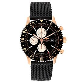 Breitling Chronoliner Limited Red Gold Mens Watch RB0612 Box Papers
