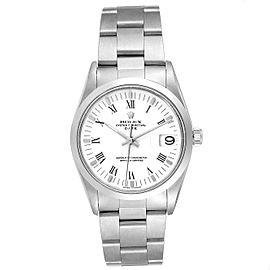 Rolex Date Domed Bezel Oyster Bracelet Steel Mens Watch 15200
