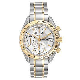 Omega Speedmaster Date Steel Yellow Gold Chronograph Watch 3311.20.00