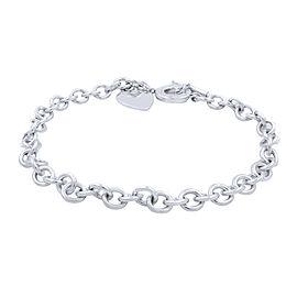 Tiffany & Co. Sterling Silver Diamond Necklace