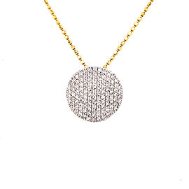 Phillips House Infinity N2003PDY 14k Yellow Gold Diamond Pendant