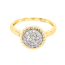 Phillips House R2006PDY 14k Yellow Gold Diamond Ring