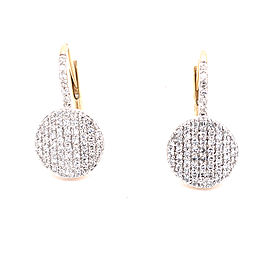 Phillips House Petite Infinity E20013PDY 14k Yellow Gold Diamond Earrings