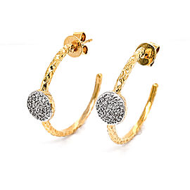 Phillips House Infinity E2037DY 14k Yellow Gold Diamond Earrings