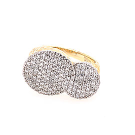 Phillips House Double Infinity R2063DY 14k Yellow Gold Diamond Ring