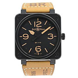 Bell & Ross Aviation BR01-92-BL 46mm Mens Watch