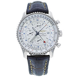 Breitling Navitimer GMT A2432212/G571-441X 46mm Mens Watch