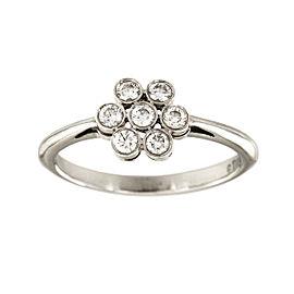 Tiffany & Co. Platinum Enchant Diamond Flower Ring