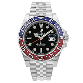Rolex GMT-Master II 126710BLRO Pepsi 41mm Mens Watch