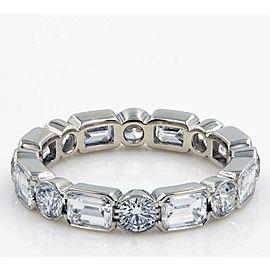 Platinum Emerald, Diamond Ring
