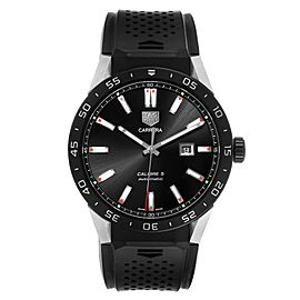 Tag Heuer Connected Black Dial Titanium Mens Watch SAR2A80