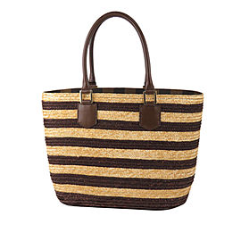 Pequin Straw Tote Bag