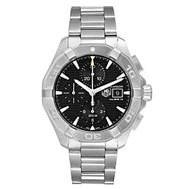Tag Heuer Aquaracer Black Dial Steel Mens Watch CAY2110