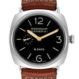 Panerai Radiomir 8 Days 45mm Steel Mens Watch PAM190 PAM00190
