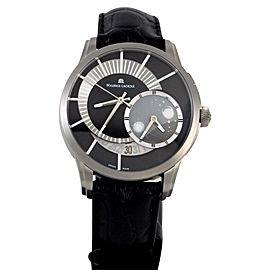 Maurice Lacroix Pontos Decentrique PT6108-TT031-391 Titanium 45mm Mens Watch