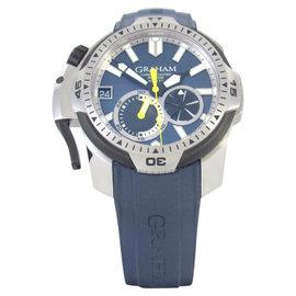 Graham Prodive 2CDAV.U01A Stainless Steel & Blue Dial 45mm Mens Watch
