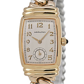 HAMILTON Bolton Benton 6248 Silver Dial Quartz Ladies Watch