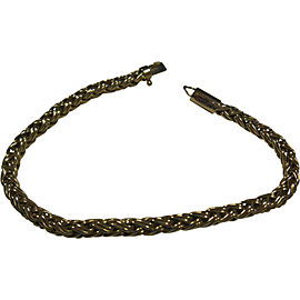 Tiffany & Co. 14K Yellow Gold Russian Braid Weave Bracelet