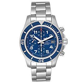 Breitling Superocean Chronograph Blue Dial Mens Watch A13311