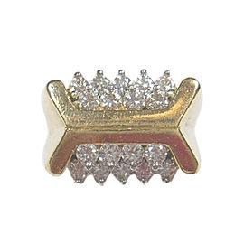 Kurt Wayne 18K Yellow Gold 1ct Diamond Ring Size 6.75