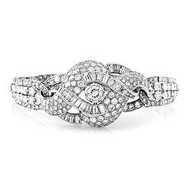 Platinum Mixed Cut 17.16ctw. Diamond Bracelet