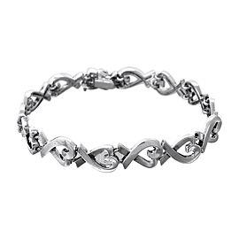 Tiffany & Co. Paloma Picasso 925 Sterling Silver Heart Bracelet