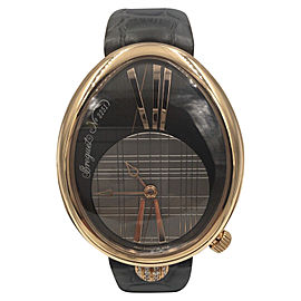 Breguet Renine de Naples 8968BR 18K Rose Gold Automatic 43mm Womens Watch