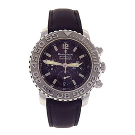 Blancpain Trilogy Air Command Flyback 2285F-1130-64B Stainless Steel Automatic 40mm Mens Watch