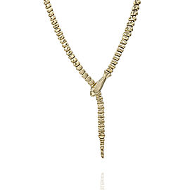 Tiffany & Co. Elsa Peretti 18K Yellow Gold Snake Necklace