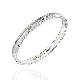 Tiffany & Co. 1837 925 Sterling Silver Bangle Bracelet