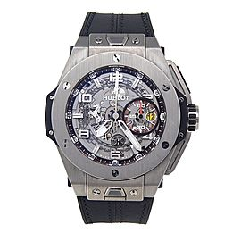 Hublot Big Bang Ferrari 401.NX.0123.GR 45mm Mens Watch