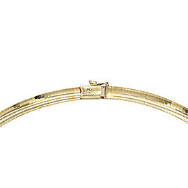 Omega Necklace 14K Yellow Gold Necklace