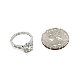 Tiffany & Co. Legacy Platinum Diamond Engagement Ring Size 5.75