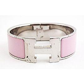 Hermès Sterling Silver Enamel Bracelet