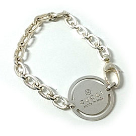 Gucci 925 Sterling Silver Chain Bracelet