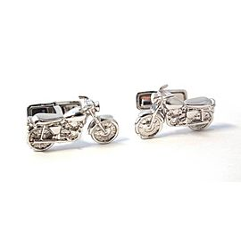 Dunhill 925 Sterling Silver Motorcycle Cufflinks