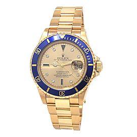 Rolex Submariner 16618 40mm Mens Watch