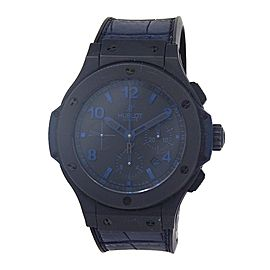 Hublot Big Bang All Black Blue 301CI1190GRABB09 44mm Men's Watch