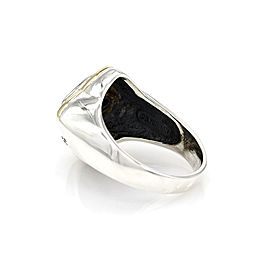 David Yurman Venetian 18K Yellow Gold, Sterling Silver Ring Size 11.25