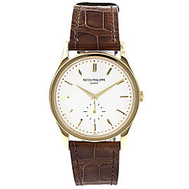 Patek Philippe Calatrava 5196J 37mm Mens Watch