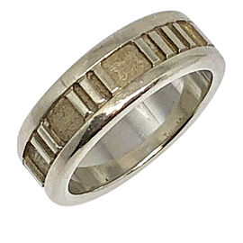 Tiffany & Co. Atlas 925 Sterling Silver Ring Size 5