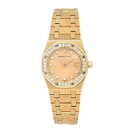 Audemars Piguet Royal Oak 66319BA.ZZ.0722BA.01 24mm Womens Watch