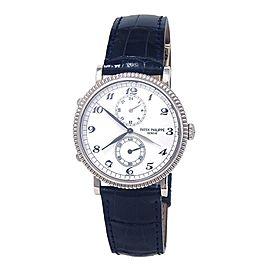 Patek Philippe Travel Time Calatrava 5034G 34mm Womens Watch