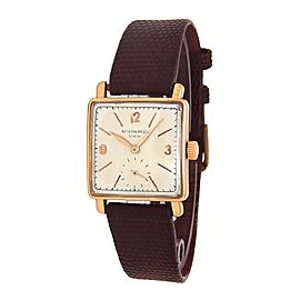 Patek Philippe Vintage Square PPVS 26mm Womens Watch