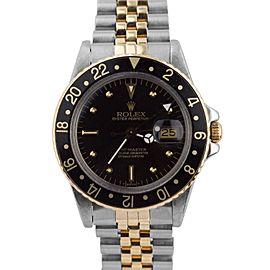 Rolex GMT-Master II 16753 Vintage 40mm Mens Watch