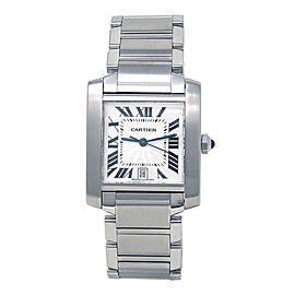 Cartier Tank Francaise W51002Q3 28mm Womens Watch